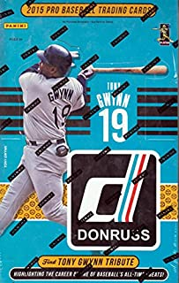 Best 2015 donruss baseball hobby box Reviews