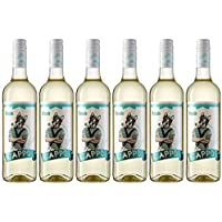 Cappo Moscato - Vino Blanco, Pack de 6 Botellas x 750 ml, Volumen de Alcohol 12%