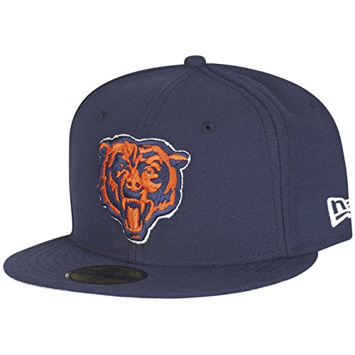 New Era 59Fifty Fitted Cap - Head Chicago Bears - 6 7/8