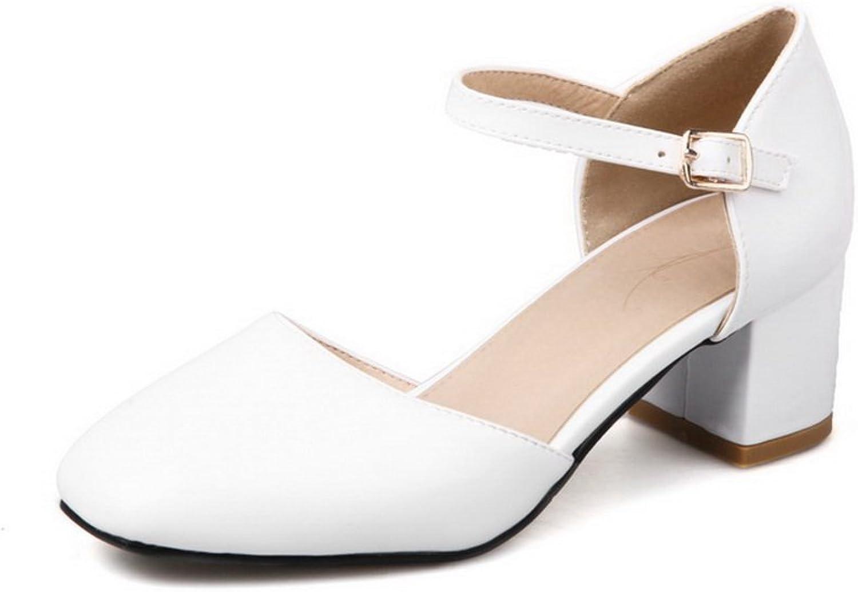 AN Womens Non-Marking Cold Lining Kitten-Heels Urethane Sandals DIU00790