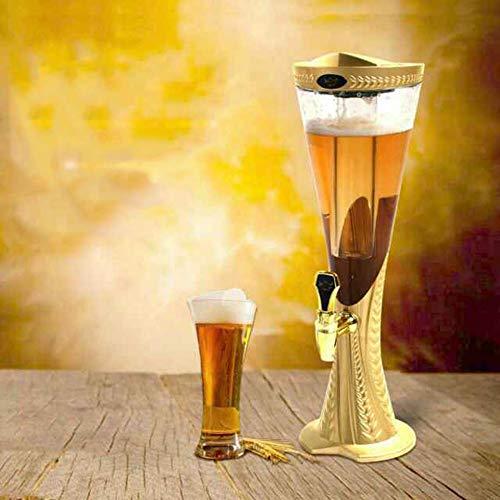 Lata sellada Dispensador de Cerveza: Jarra de Cerveza de Acero Inoxidable con Grifo, Tanque de Jugo, dispensador de Bebidas de autoservicio 1.5L / 3L