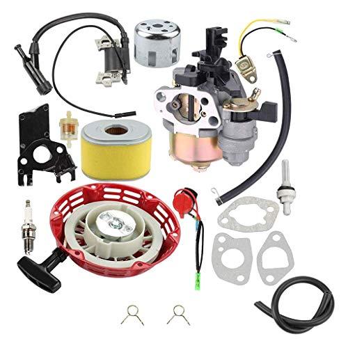Fried Suave Conjunto del carburador, carburador de Carb for Honde GX160 GX140 GX168 GX 160 GX200 GX 200 5HP 5.5HP Motor de Gasolina Ventilador de Hoja Cortasetos carburador Escabroso