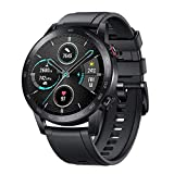 HONOR Smartwatch Magic Watch 2 (46 mm) Fitness Tracker Watch Hombre Mujer Smart Watch, 5 ATM Smart Watch Muñeca Monitor de ritmo cardíaco Presión Smartband, GPS Llamada por Bluetooth, Negro mate
