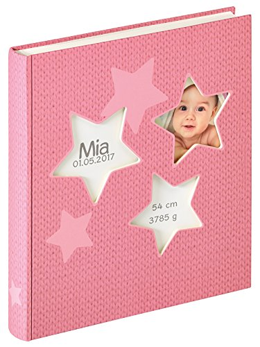 walther design UK-133-R Babyalbum Estrella, rosa, 28x30,5 cm