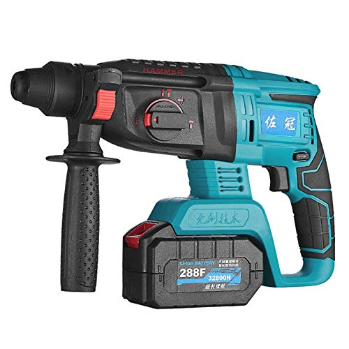 HOUSEHOLD Portable impact drill, medium-sized electric hammer, rechargeable electric drill, multi-function electric screwdriver, brushless motor impact driver, portable home/office