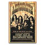 WPQL Aerosmith 1975 Tour-Poster, Poster, Dekoration,