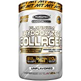 'MuscleTech Platinum 100% Hydrolyzed Collagen, Collagen Peptides, Unflavored, 1.5 Pounds'