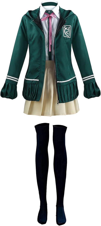 Dahee Women's Chiaki Clearance SALE! Limited time! Nanami Cosplay Jacket Unifor Costume School Weekly update