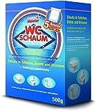 WC Reiniger Schaum | Kraftvoller Kalkentferner & Urinsteinlöser | WC Pulver Zauberschaum bekannt aus dem TV | WC Tabs Alternative | Idealer Kloreiniger 5x100g