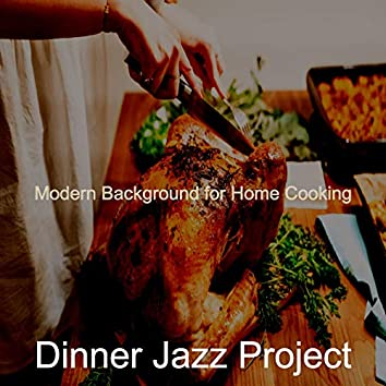 Modern Background for Home Cooking