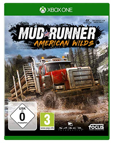 Spintires: Mudrunner American Wilds Edition (XB1) [Importación alemana]