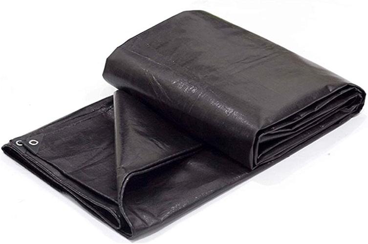 XX Tarpaulin XiaoXIAO Baton de Poncho rembourré en Toile de Parasol pour Le Voyage en Plein air Poncho en Tissu en Plastique, Noir, 23 Tailles Bache (Taille   4mX5m)