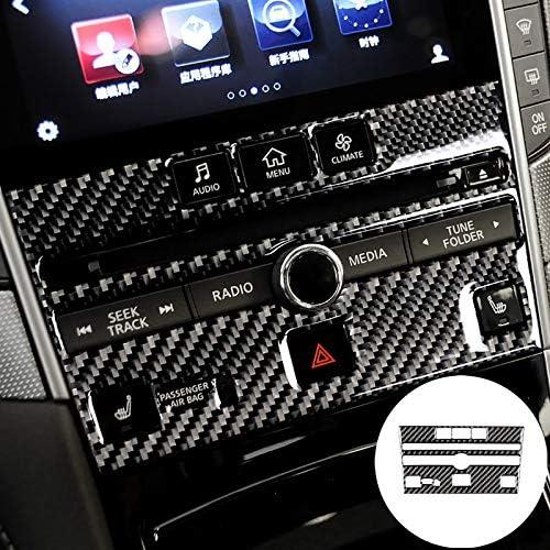 HOTRIMWORLD Carbon Fiber Inner Max 87% OFF Center Cover Tri Super sale CD Panel Console