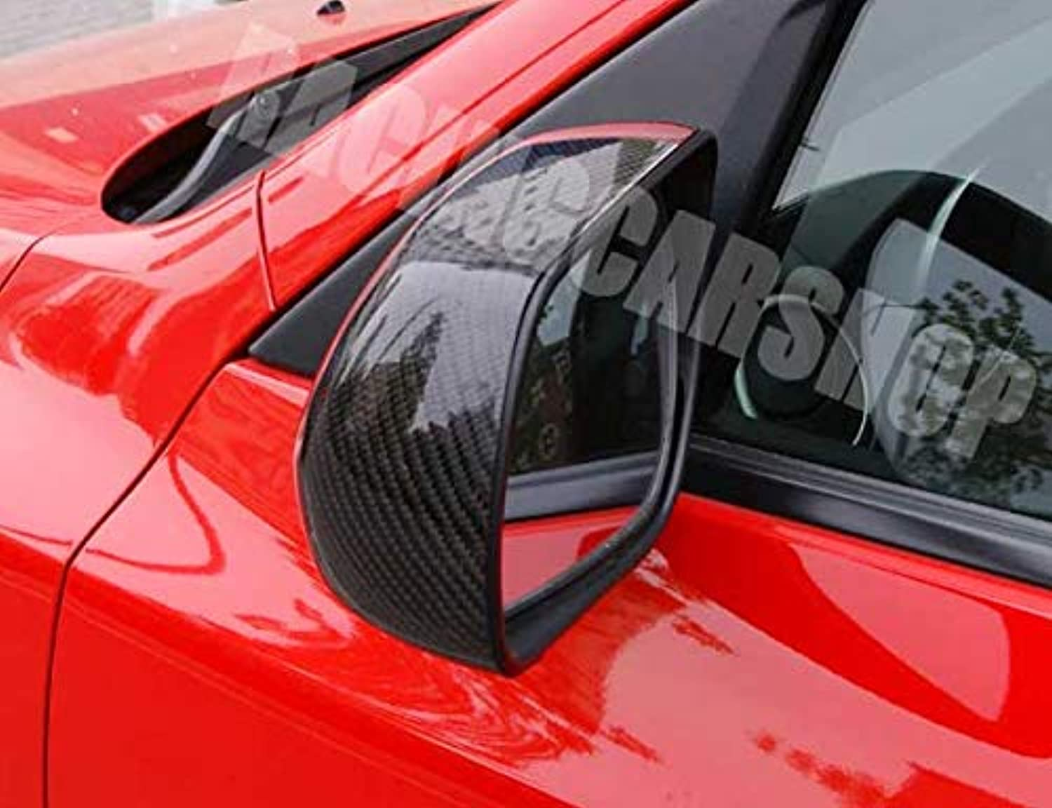 Real Carbon Fiber Mirror Cover for Mazda 3 4D 5D T044M