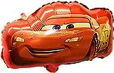 SauParty Sin Globo de Helio ! Plástico Disney Cars Lightning Mcqueen Auto Coche Deportivo