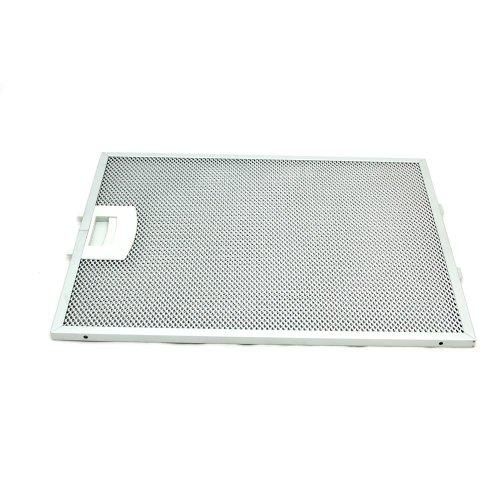 Bosch 353110 Dunstabzugshaubenzubehör (Metallfilter, Fettfilter rechteckig Metall) weiß