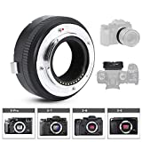 Fringer EF-FX2 Pro II Auto Focus Lens Adapter for Canon EF/EF-S Lens to for Fujifilm X-H, X-T, XPo, X-E Series Camera