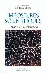 IMPOSTURES SCIENTIFIQUES de BAUDOUIN JURDANT