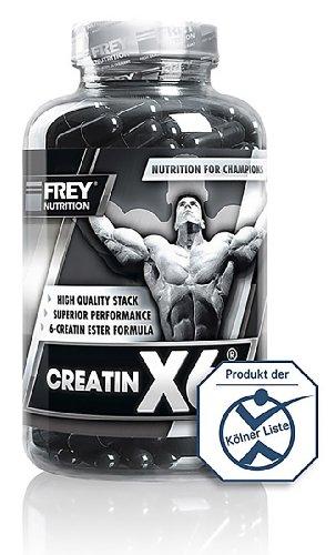 Frey Nutrition Creatin X6 Nahrungsergänzungen, 1er Pack