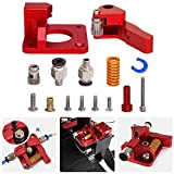 Zeelo 3D Printer Upgrade Extruder Dual Driver Long-Distance Remote Metal Extruder Right Hand Block Kit Spare Parts 1.75mm Filament for CR-10S Pro Anet A8 Anycub Mega Wanhao i3