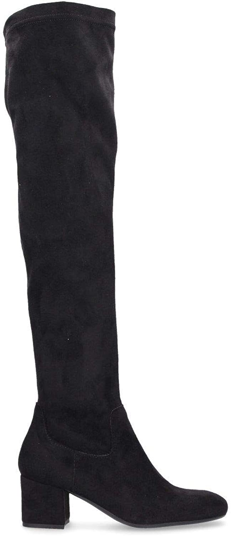 LAMICA Women's QUILIA6246 Black Suede Boots