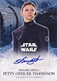 2016 Topps Star Wars: The Force Awakens Series 2 Autograph Thomas Brodie-Sangster as Petty Officer Thanisson