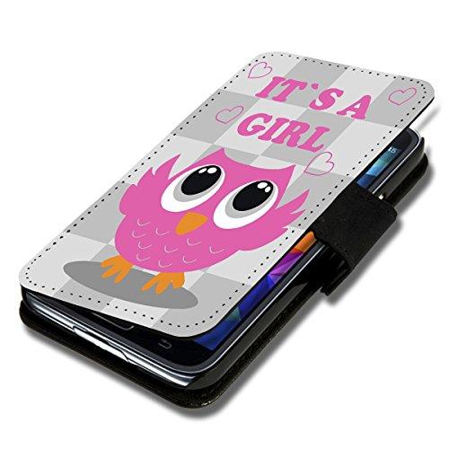 wicostar Book Style Flip Handy Tasche Hülle Schutz Hülle Schale Motiv Etui für Wiko Sunset 2 - Flip 1A35 Design4