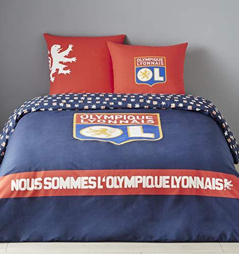 Olympique Lyonnais Single Duvet Set, Navy