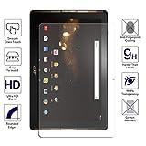 Protector de pantalla para Acer Iconia Tab 10 A3-A40 – Protector de pantalla de cristal templado de borde redondo 2.5D para Acer Iconia Tab 10 A3-A40