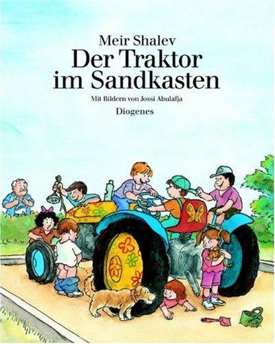 Der Traktor im Sandkasten