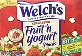 Welch's Strawberry Fruit'n Yogurt Snacks 8 Pouches