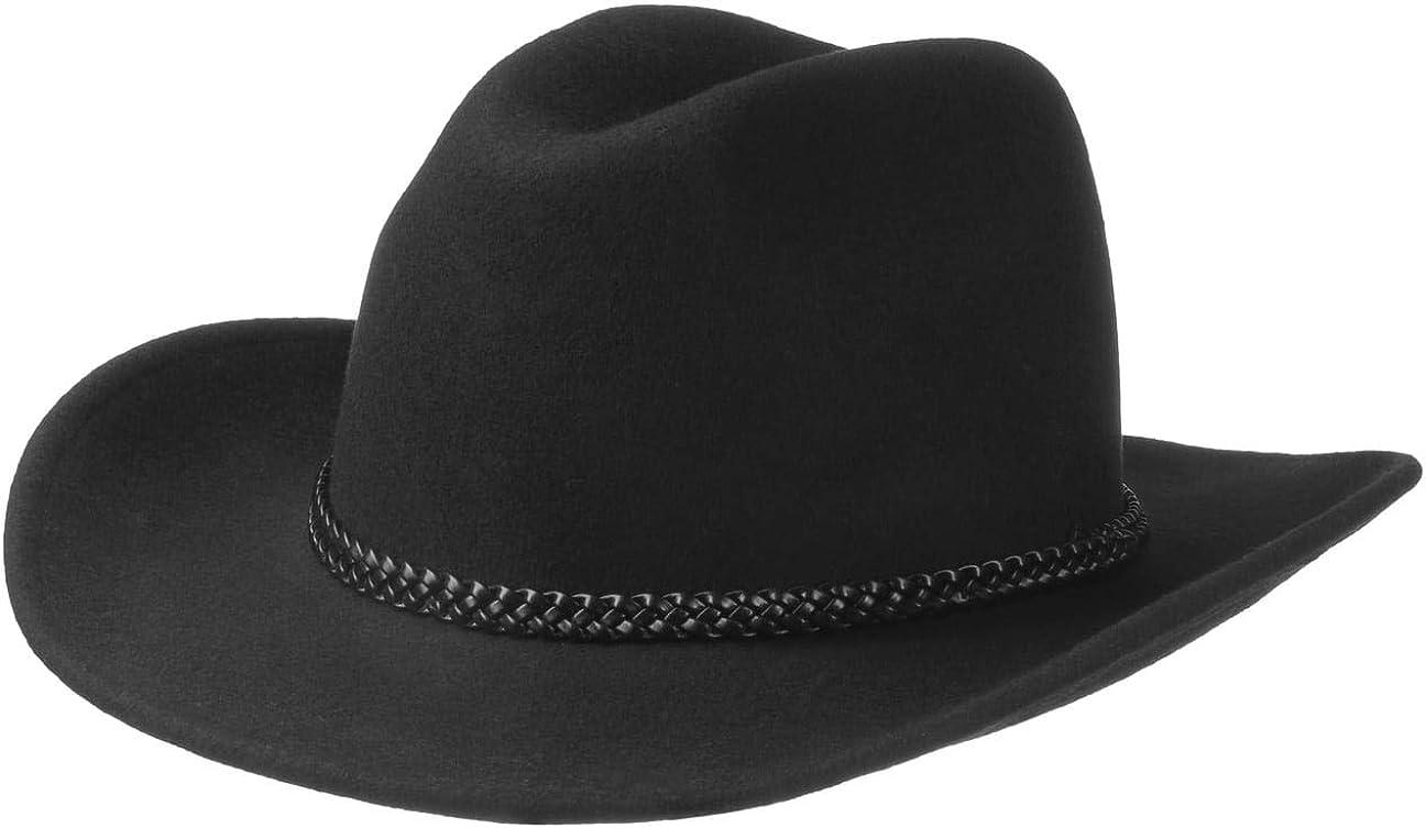 Miobo Cappello da Cowboy Western Cappello Cowgirl Australien Texas Cappello da Cowboy Cappelli Western per Adulti e Bambini