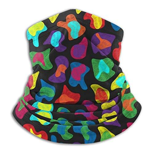 Multifunctional Headwear Face Mask Headband Neck Gaiter Colorful Animal Print-6546 Balaclava for Men and Women