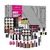 Set De Maquillaje, Kit De Maquillaje Todo En Uno, Set De Inicio Cosmético, Organizador De Maquillaje De Viaje Portátil para Fiestas Navideñas Y Maquillaje Diario