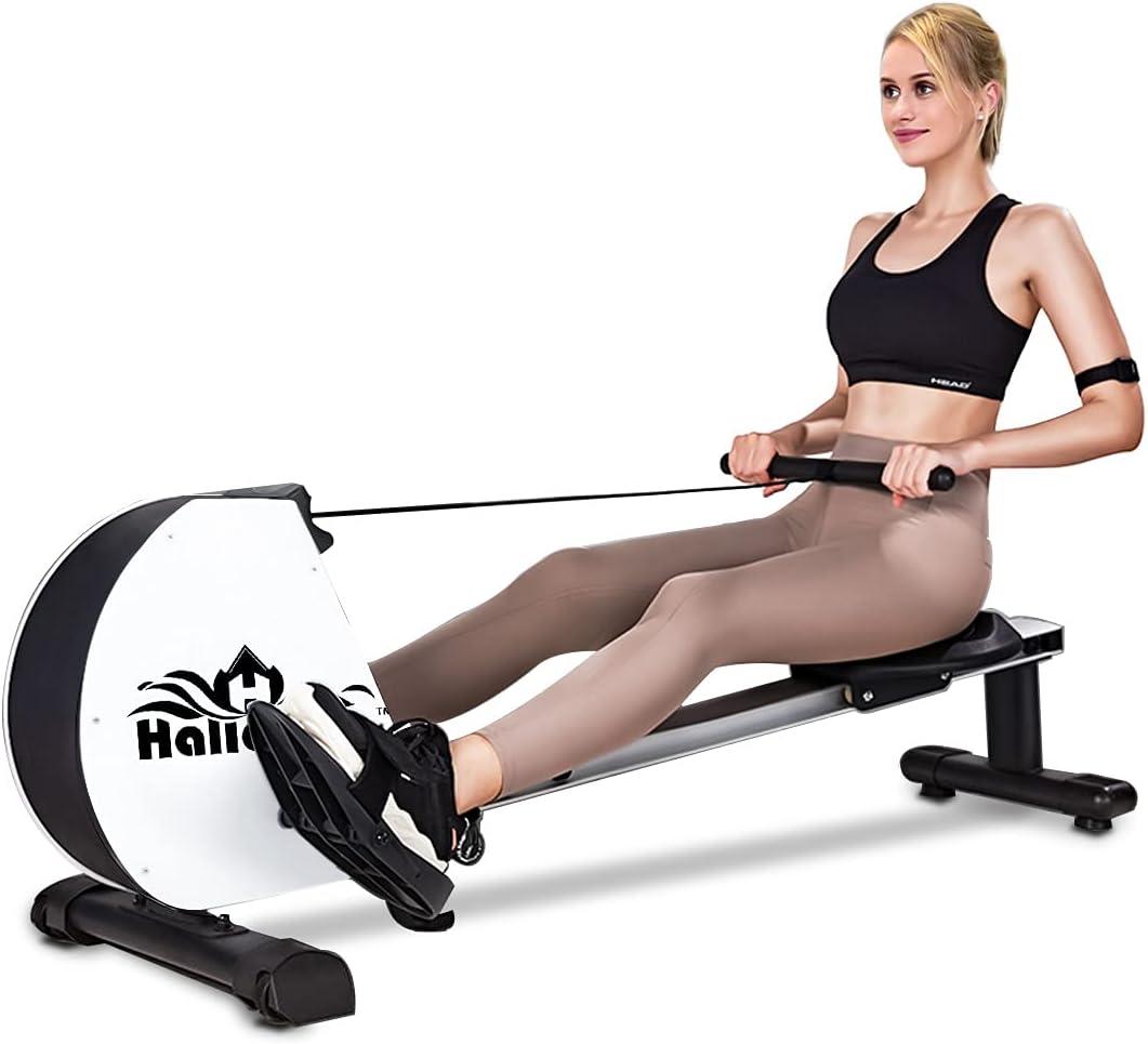 HALLOLURE Rowing Machine Max 86% OFF Health Equipment Selling Folda Fitness Magnetic