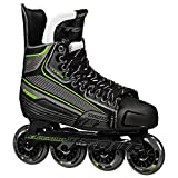 Tour Hockey Code 9 SR Inline Hockey Skate, Black/Green , 09