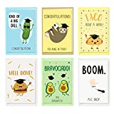 36Pack Congratulations Cards Assortment with Envelopes Stickers Funny Graduation Greeting Card For Graduation Party Supplies Congrats Grad Gifts 4 x 6 Inches