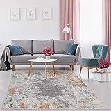 Luxe Weavers Kingsbury Abstract Multi 6x9 Area Rug 7680