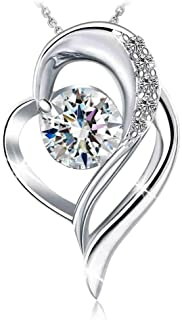 Swarovski Elements 925 Sterling Silver Pendant Necklace J.Rosée  Jewelry JR001