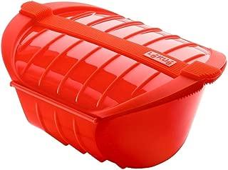 Lekue Ogya Microwavable Pot, Model # 3407600R10U004, X-Large, Red