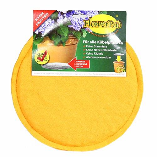 FlowerPad Original 30 cm Profi Drainage für Pflanztöpfe + Übertöpfe – Staunässe-Schutz – Made in Germany