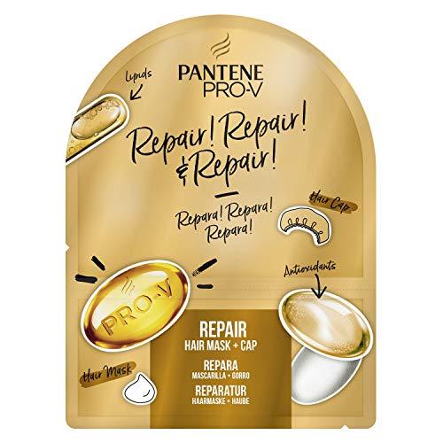 Pantene Reparación Pro-V Repara y Repara - Reparación Superalimento, Mascarilla y Gorro, 20ml