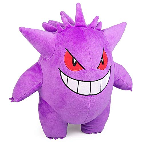 "Pokémon Gengar Plush Stuffed Animal Toy - Large 12"" - Ages 2+"