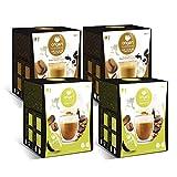 Capsulas compatibles dolce gusto * Origen & Sensations | 2 x café con leche | 2 x capuccino | Total 64 cápsulas