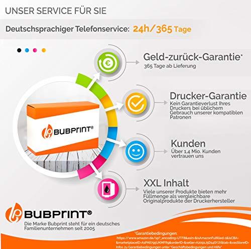 Bubprint Druckerpatrone kompatibel für HP 940XL 940 XL C4908AE für OfficeJet Pro 8000 Enterprise Wireless 8500 Premier 8500A Plus Premium Magenta