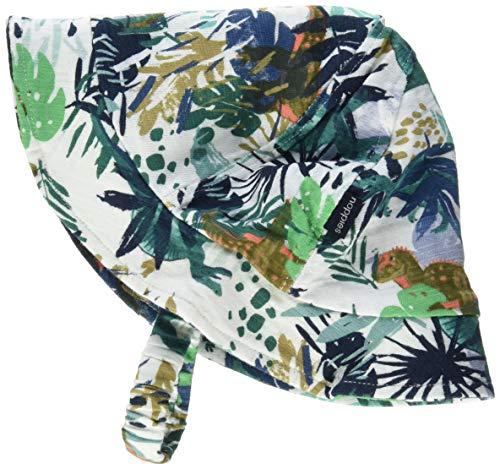 Noppies B Hat Atlantic AOP Bonnet, Multicolore (Blanc De Blanc P002), Unique (Taille Fabricant: 6M-12M) Bébé garçon