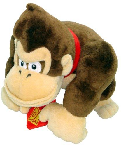 Super Mario Peluche–9'Donkey Kong Suave Peluche de Juguete