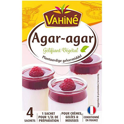 Vahiné - Agar Gelificante Vegetal 8G - Lot De 4 - Precio