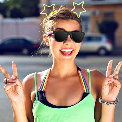 24 Pack 80's Style Neon Party Sunglasses - Fun Gif   t, Party Favors, Party Toys, Goody Bag Favors