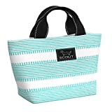 SCOUT Nooner Lunch Box, Water-Resistant, Lightweight, Insulated Lunch Bag for Women with Zippered Closure and Exterior Zipper Pocket in She Said Pattern (Multiple Patterns Available)